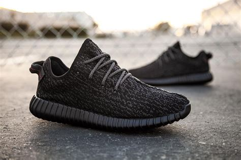 This Week's 'Pirate Black' adidas Yeezy 350 Boost Is the