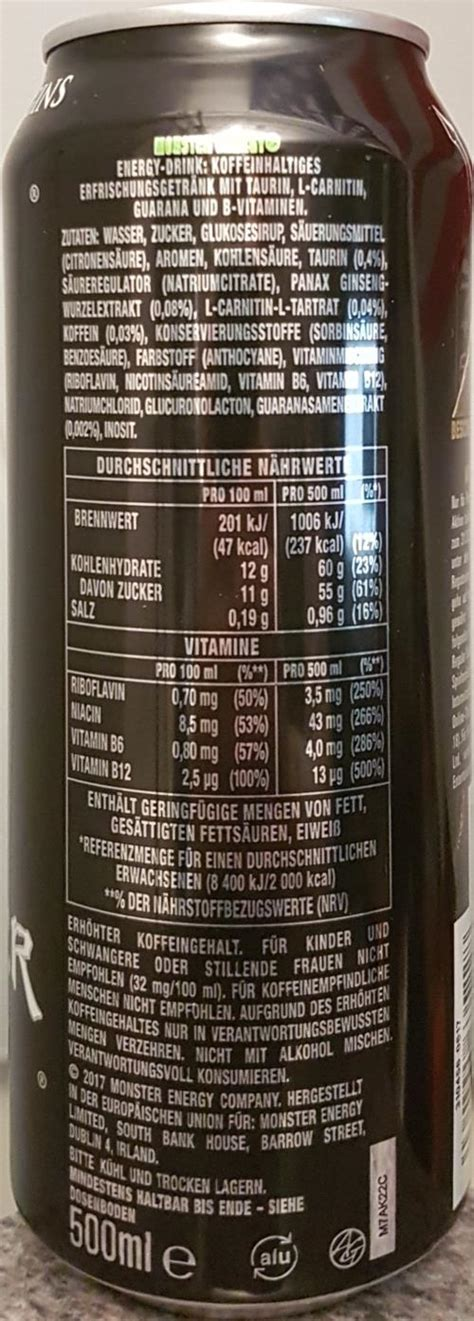 MONSTER-Energy drink-500mL-ASSASSIN'S CREED ORI-Germany