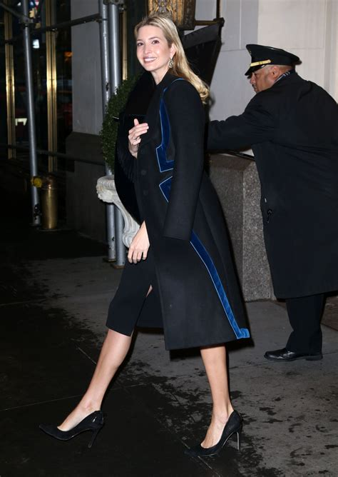 IVANKA TRUMP Out in New York 12/12/2016 - HawtCelebs