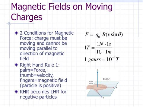 PPT - Chapter 21 Summary: Magnetic Forces and Magnetic