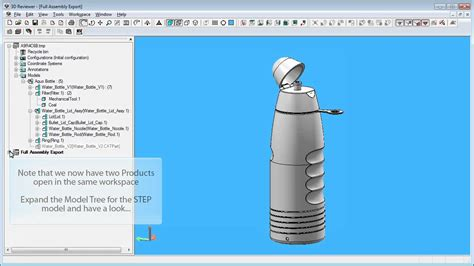 3D PDF - Export to Neutral File Formats - YouTube