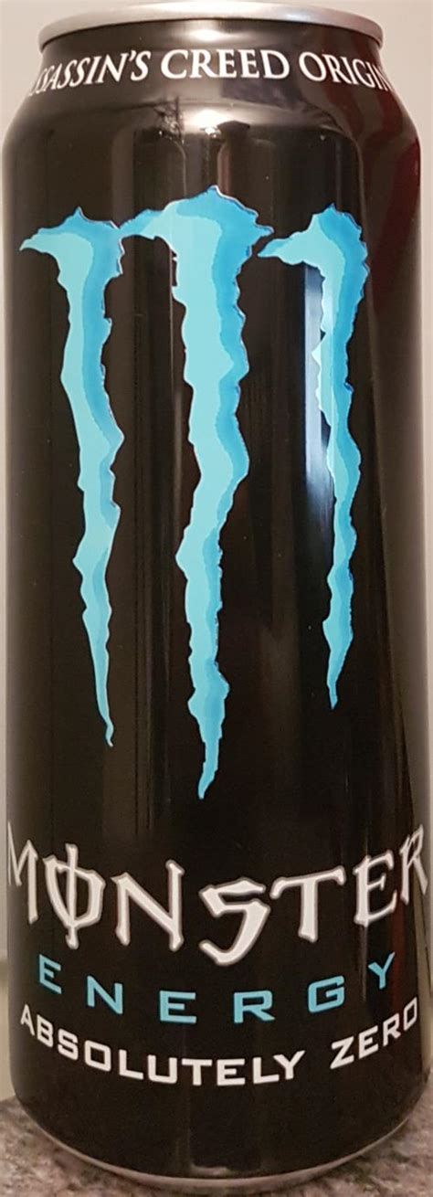 MONSTER-Energy drink (diet)-500mL-ABSOLUTELY ZERO / AS-Germany