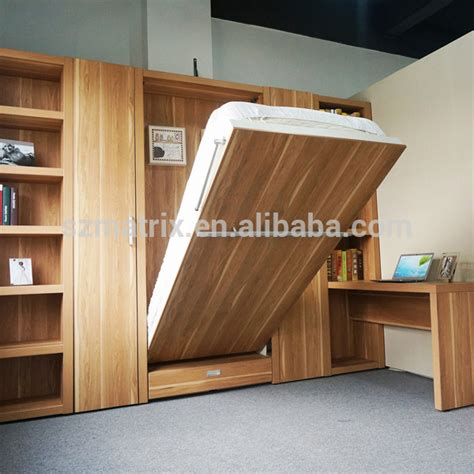 Space Saving Single Folding Vertical Wall Bed For Small