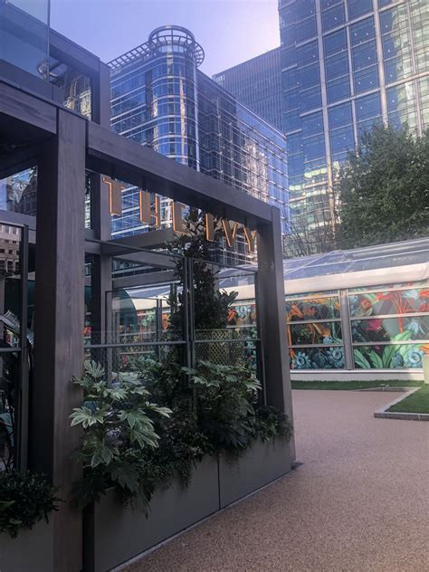 Ivy in the Park - Canary Wharf - The London Haloodie
