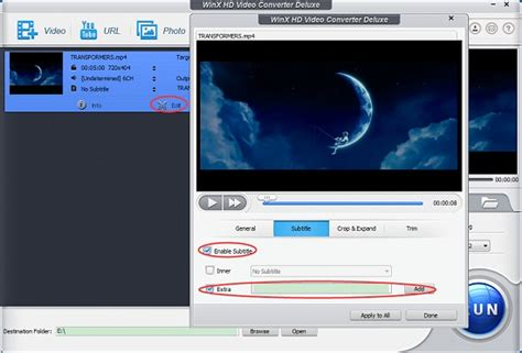 How to Add Subtitles to MP4 Videos Movies on PC/Mac