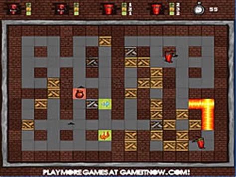 Play Fire and Bombs 2 game online - Y8