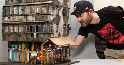 Gritty Urban Miniature Cities With Details So Small You'll