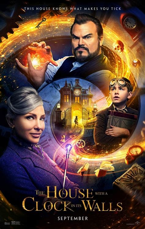 Jack Black and Cate Blanchett featured on The House with a