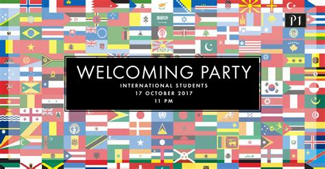 International Students Welcoming Party | P1 Club & Bar