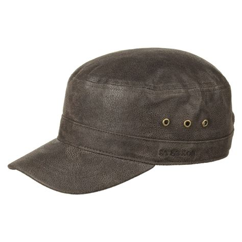 Alpha Distressed Cap by Stetson, GBP 59,00 --> Hats, caps