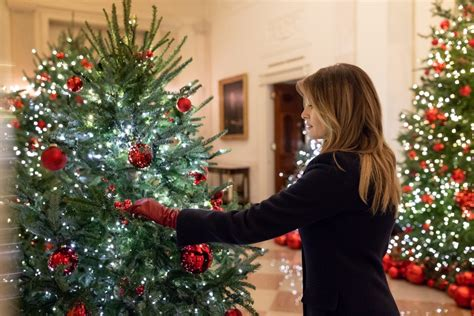 First Lady Melania Trump Unveils Christmas at the White