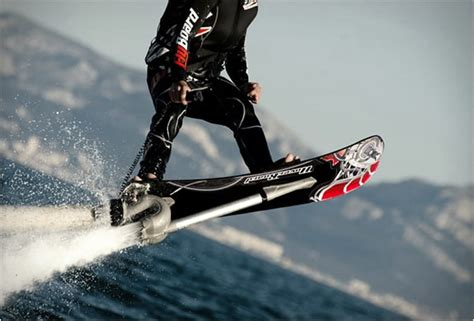 Franky Zapata's Hoverboard, for an Adrenaline-Filled Water