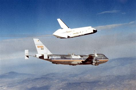 NASA lands space shuttle-carrying jumbo jet in Houston to