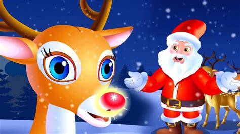 Rudolph the Red Nosed Reindeer | Christmas Song For Kids