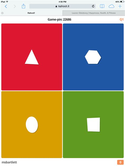 K is for Kahoot! (ABCs of 2nd grade) - Swimming Into Second