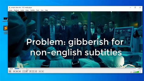 fix VLC subtitle gibberish in 30 sec [how-to] - YouTube