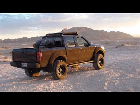 The PUNISHER Truck Rises, 2003 Nissan Frontier 2wd lifted