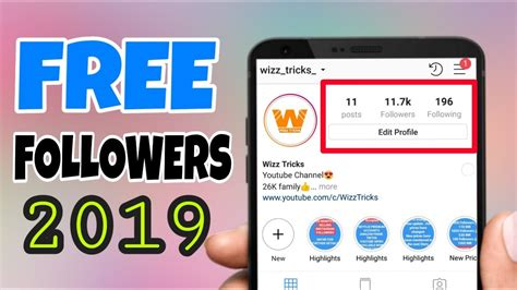 How to get INSTAGRAM FOLLOWERS for FREE 2019   No Survey