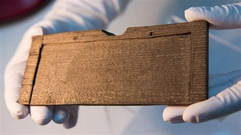 Ancient Roman Tablets Found In London