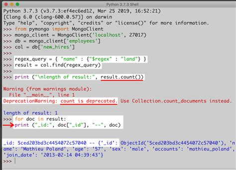 How To Query MongoDB Documents In Python   ObjectRocket
