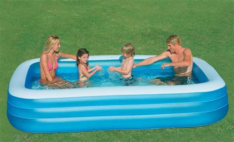 Intex - 58484 Of The Large Inflatable Family Swimming Pool