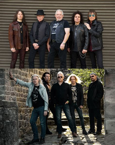 Relive the '80s with British rock bands UFO and Saxon at