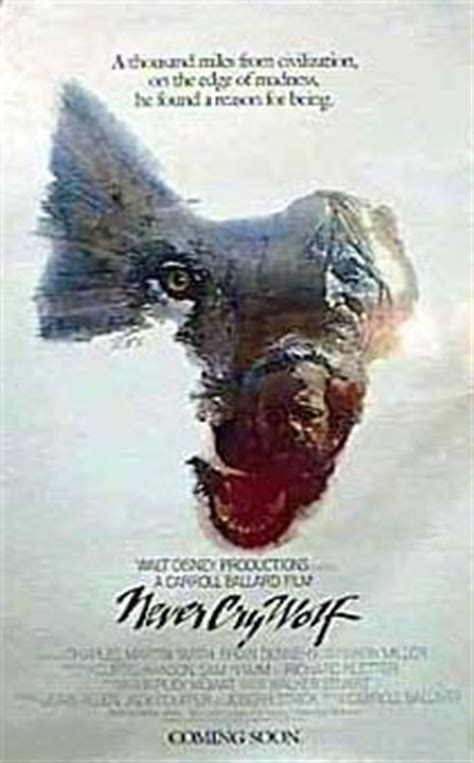 Never Cry Wolf Movie Poster (#1 of 3) - IMP Awards