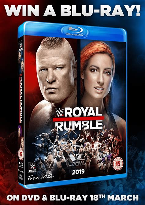 Giveaway - Win WWE Royal Rumble 2019 - NOW CLOSED
