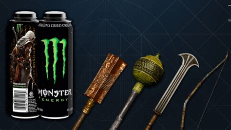 Get Exclusive Assassin's Creed Origins Loot with Monster