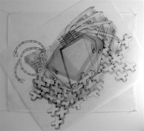 Drawing 2 - Mechanical Object   Emily Carr University