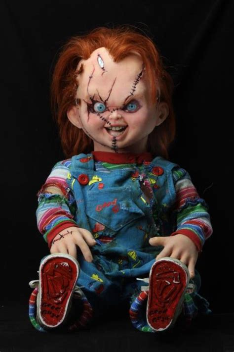 Life-Size, Screen Accurate Replica Dolls of Chucky and