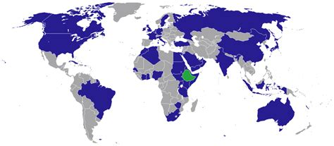 List of diplomatic missions of Ethiopia - Wikipedia