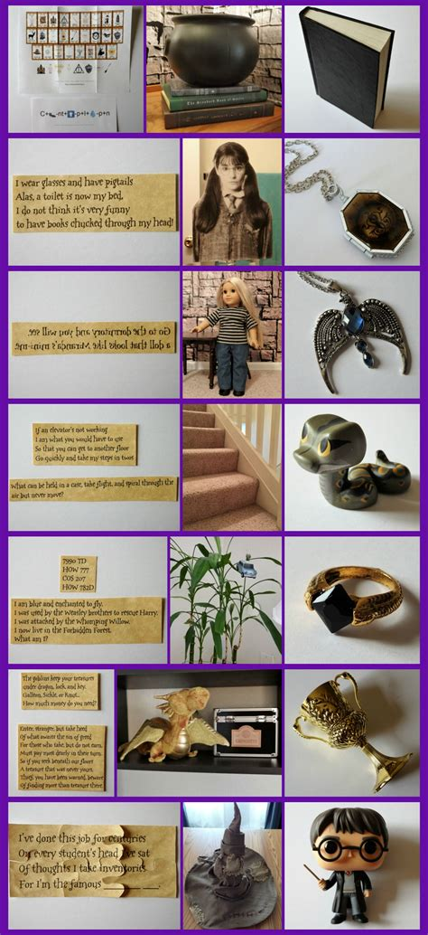 Harry Potter Inspired Activity: Horcrux Hunt with FREE