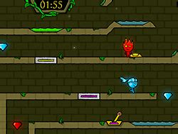 Fireboy and Watergirl 5 Elements ゲーム - Y8