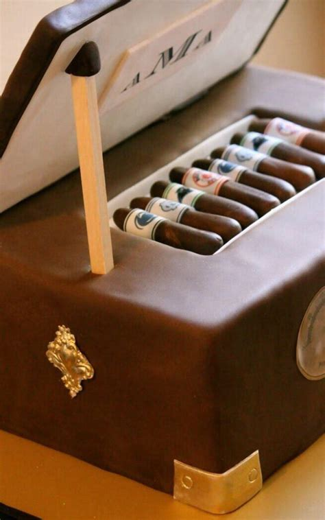 Some Best Cigar Themed Cakes On The Father's Day
