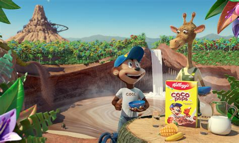 Piranha Bar Nibbles Out a New Look for Kellogg's Coco and