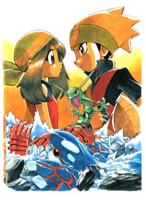 Ruby & Sapphire chapter (Adventures) - Bulbapedia, the